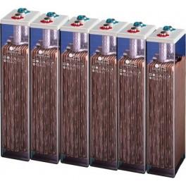 Baterias estacionarias BAE Secura modelo 12 PVS 2280, conjunto de 12v
