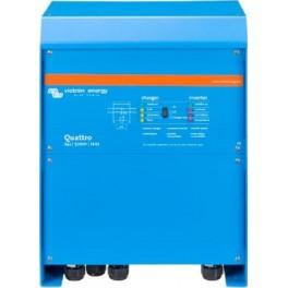 Inversor-cargador Victron Quattro 24/5000/120-100/100 de 24V y 4000W continuos con cargador de 120A