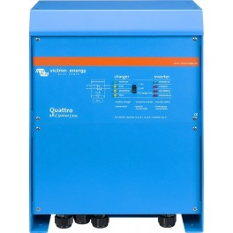 Inversor-cargador Victron Quattro 48/5000/70-100/100 de 48V y 4000W continuos con cargador de 70A