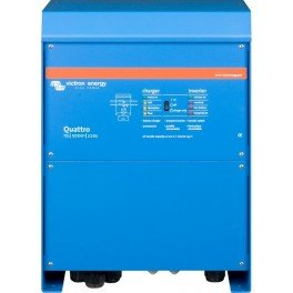 Inversor-cargador Victron Quattro 12/5000/220-100/100 de 12V y 4000W continuos con cargador de 220A