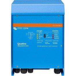 Inversor-cargador Victron Quattro 12/3000/120-50/50 de 12V y 2400W continuos con cargador de 120A