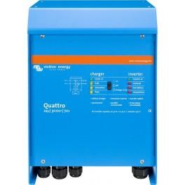 Inversor-cargador Victron Quattro 24/3000/70-50/50 de 24V y 2400W continuos con cargador de 70A