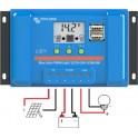 Controlador de carga Victron BlueSolar PWM-LCD y USB de 5A y 12/24v