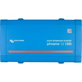 Inversor de 12V y 1000W continuos Victron Phoenix 12/1200 VE.Direct