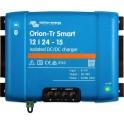 Convertidor DC-DC Orion-Tr Smart aislado de 12V a 24V y 10A utilizable como cargador de batería de 3 etapas.