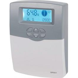 Sistema de control solar electrónico para termosifones