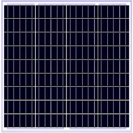 Panel solar fotovoltaico 50Wp policristalino modelo SCL-50P