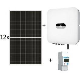 Kit autoconsumo de 3025W sin inyección a red, con inversor Huawei SUN2000-3KTL-L1 de 3KW