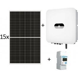 Kit autoconsumo de 3300W sin inyección a red, con inversor Huawei SUN2000-3KTL-L1