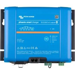 Cargador de baterías de 12V y 30A Victron Phoenix Smart IP43 12/30 (1+1)