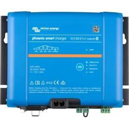 Cargador de baterías de 12V y 50A Victron Phoenix Smart IP43 12/50 (1+1)