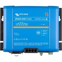 Cargador de baterías de 12V, 30A y 3 salidas Victron Phoenix Smart IP43 12/30 (3) + Cable AC