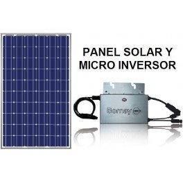 MicroKit solar fotovoltaico 250W autoconsumo modelo revoLUZiona de Bornay