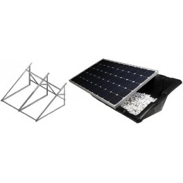 Estructuras de soporte de paneles solares fotovoltaicos.