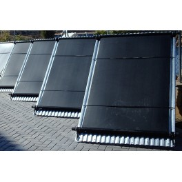 Panel captador solar para piscinas Solapool Plus de polipropileno y 120X500cm