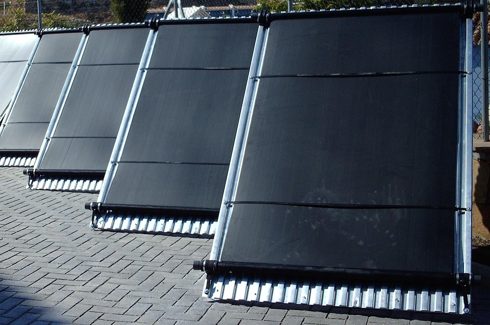 panel captador solar para piscinas de 120x400cm solapool plus de