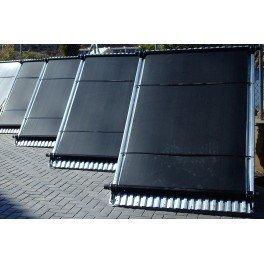 Panel captador solar para piscinas Solapool Plus de polipropileno y 120X200cm
