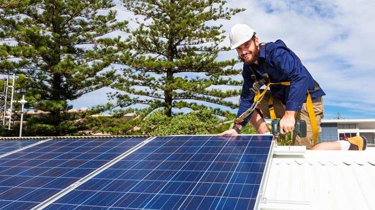 placas solares en viviendas