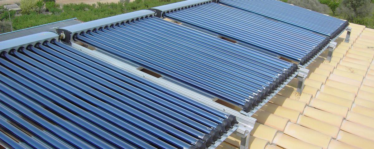 Tubos de vacío, tecnología eficaz en colectores solares - Blog Ecofener