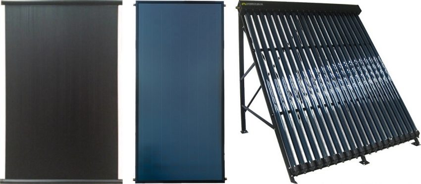 Captadores, paneles o colectores solares térmicos