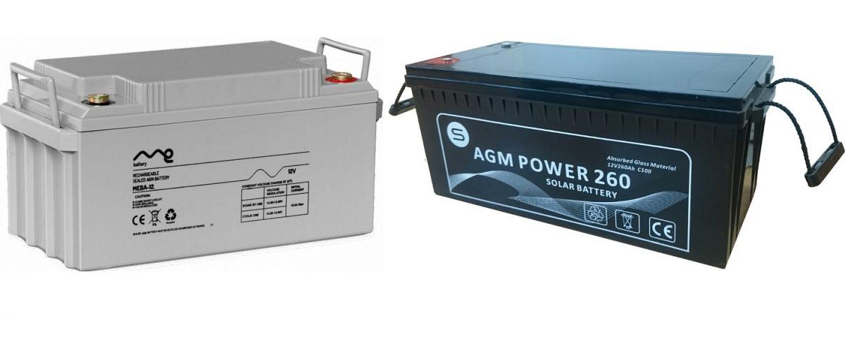 Baterías AGM o GEL