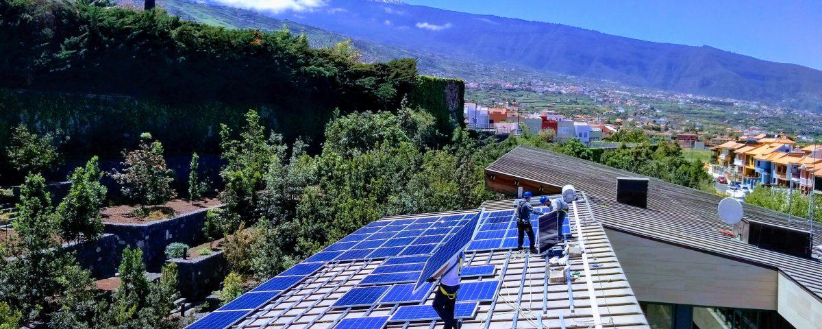 Medidas de seguridad durante instalaciones fotovoltaicas