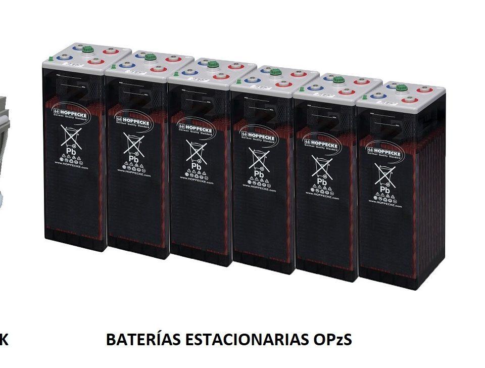 Tipos de baterías solares más comunes