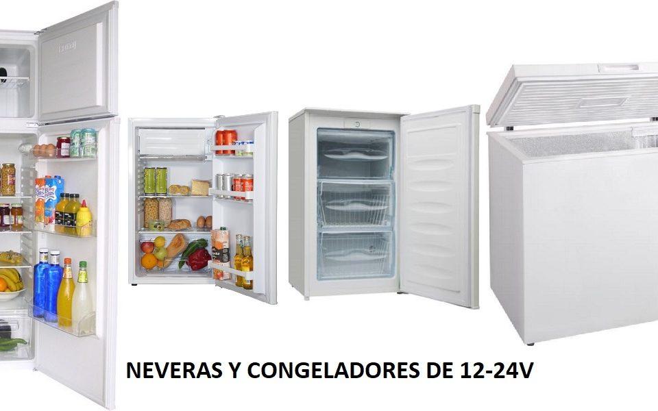 Neveras y congeladores de 12-24V