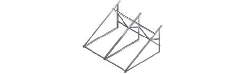 Estructuras metálicas de soporte de equipos