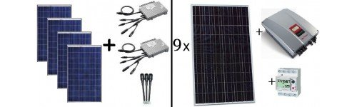 Kits solares fotovoltaicos de autoconsumo