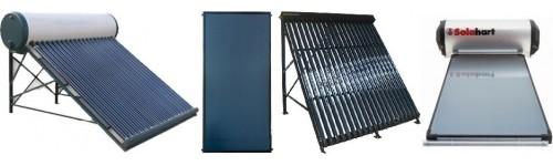 Equipos energía solar térmica
