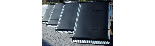 Paneles solares térmicos para piscinas