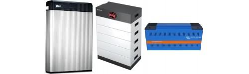 Baterías de litio para sistemas solares