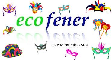 Logo ecofener en carnaval