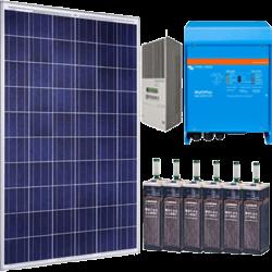 Kits solares fotovoltaicos para instalaciones aisladas