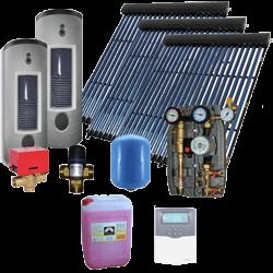 Sistemas solares térmicos para apoyo a generación ACS y/o calefacción