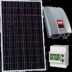Kits de autoconsumo solar fotovoltaico sin inyección a red